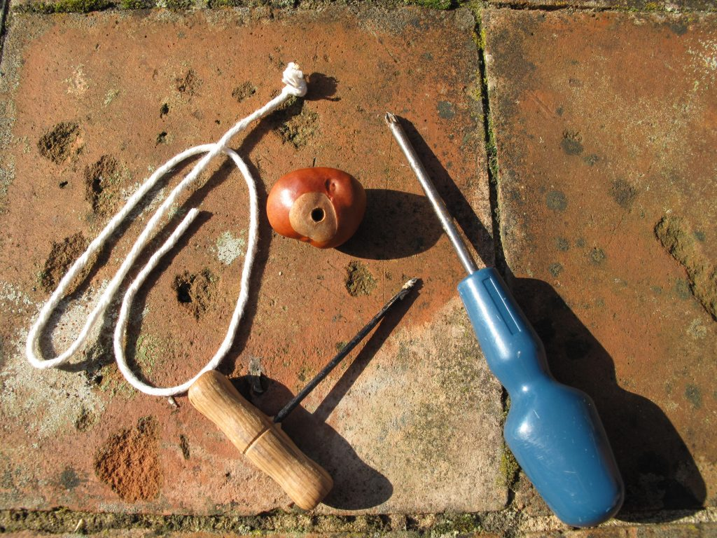 Stringing Conkers