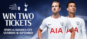Win tickets to see Spurs at Wembley