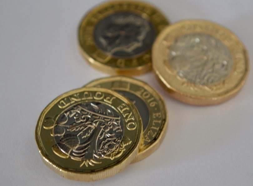 new £1 coins