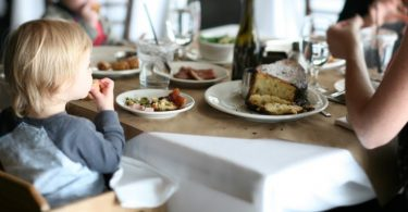 Child Dining Out